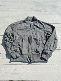 Aviator Jacket (Glen Plaid Poplin)