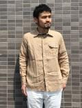 NAT-U-RAL別注 New Standard Fit Regular collar Shirt (Linen)