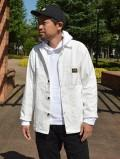 【Stan Ray】 SHOP JACKET (White Sateen)
