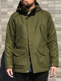WOOL FISHERMAN PARKA