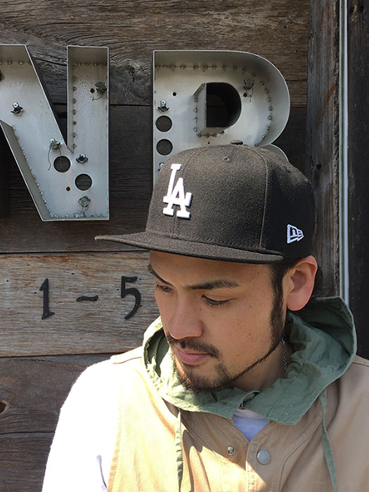 "9FIFTY ""Los Angeles Dodgers"" (Black × White)"