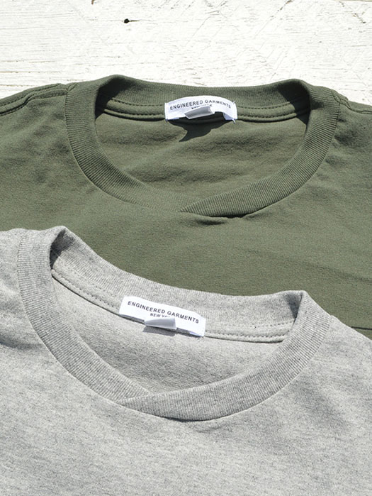 Printed Crossover Neck Pocket Tee (Everyone)