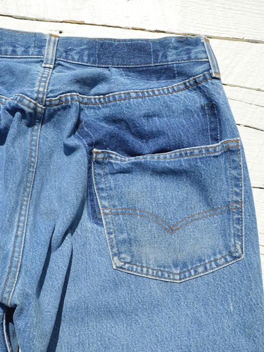 "【KNIFEWING】 USA Levi's 501 WIDE Tuck Pants (Size M) ""B"""