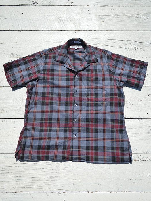 Camp Collar S/S Shirt (Check)