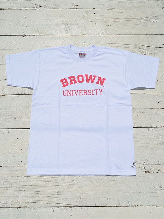 "【THRIFTY LOOK】 ""BROWN"" Tee"