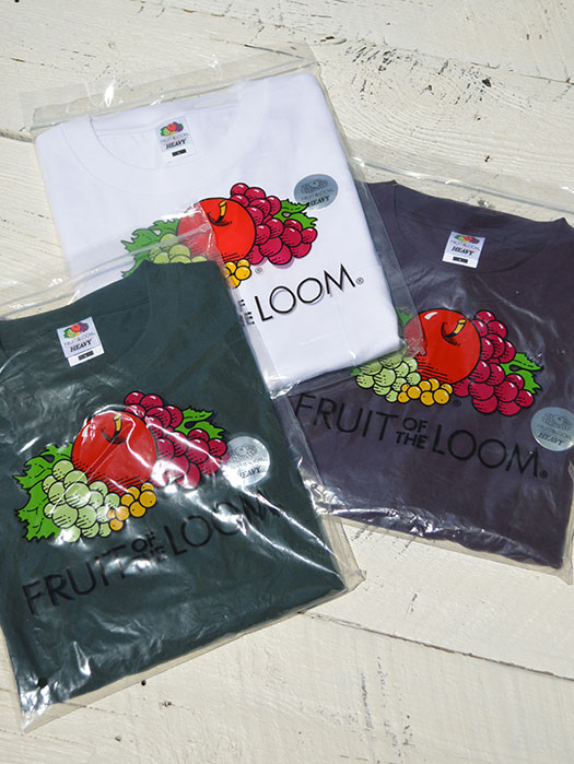 【FRUIT OF THE LOOM】 Heavy Weigth Pocket Tee