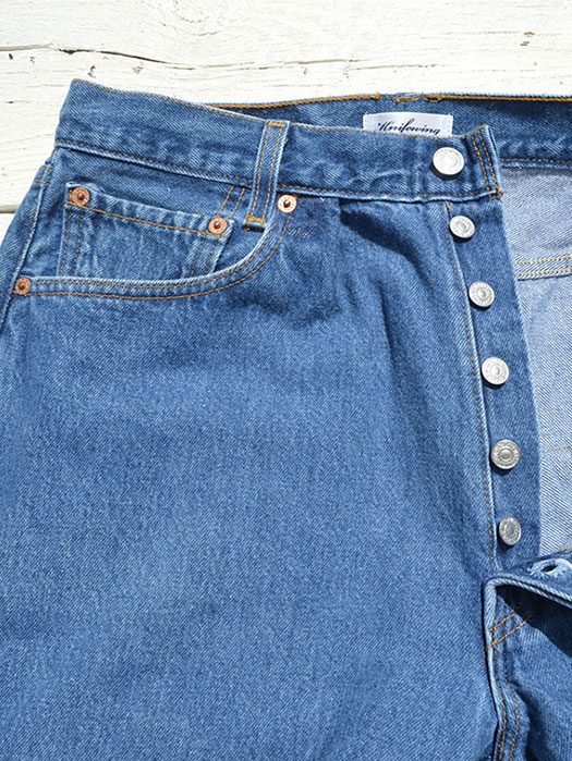 "【KNIFEWING】 USA Levi's 501 WIDE Tuck Pants (Size M) ""I"""
