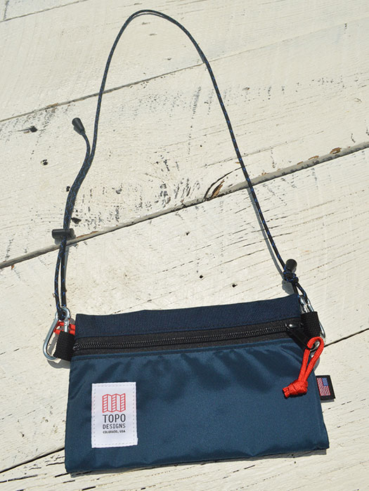 ACCESSORY BAG S (w/ROPE STRAP)