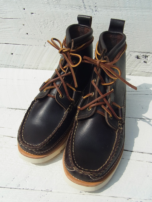 NR別注 MAINE GUIDE 5 EYE DB BOOTS (W/SUPERIOR HUNT BOOTS LEATHER TAB)