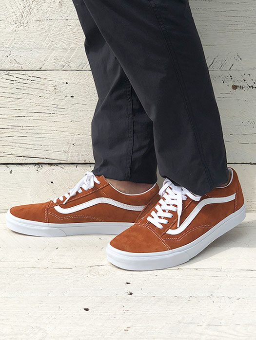 OLD SKOOL (PIG SUEDE)