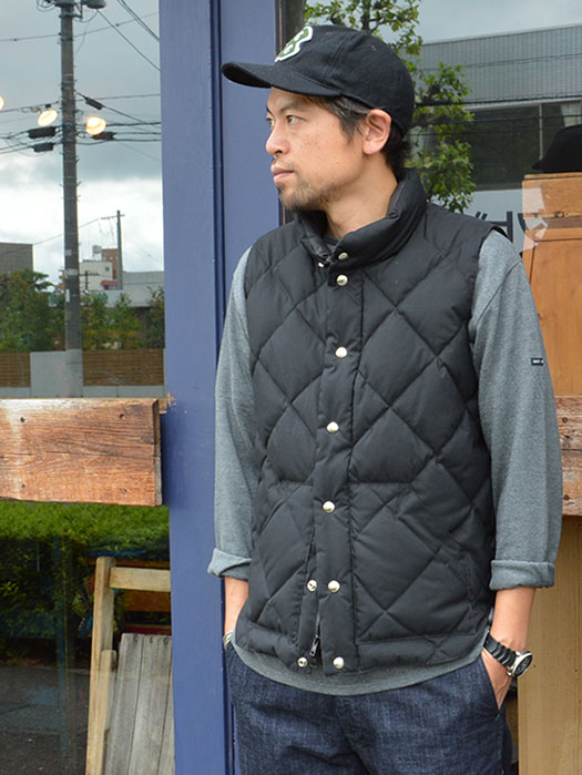NR別注 Round Tail Quilted Italian Vest (60/40)