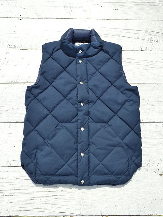 【30% OFF】 NR別注 Round Tail Quilted Italian Vest (60/40)