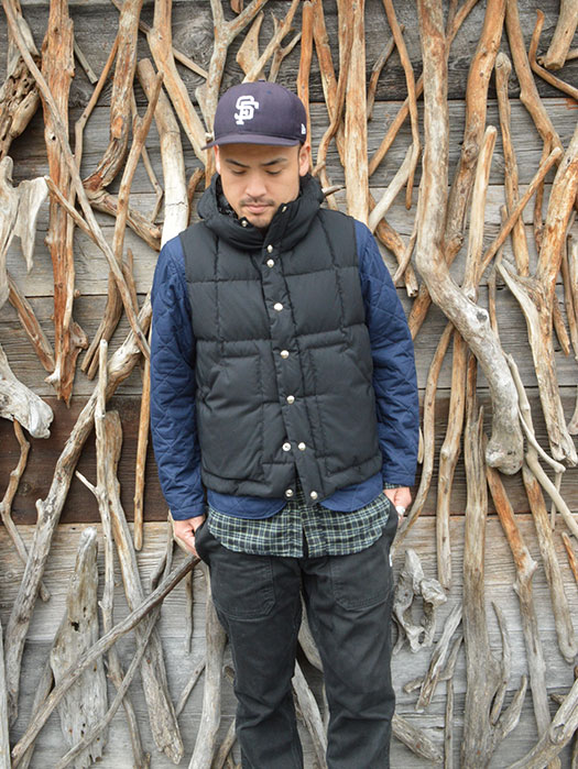 Hooded Down Vest (60/40) (NR別注)