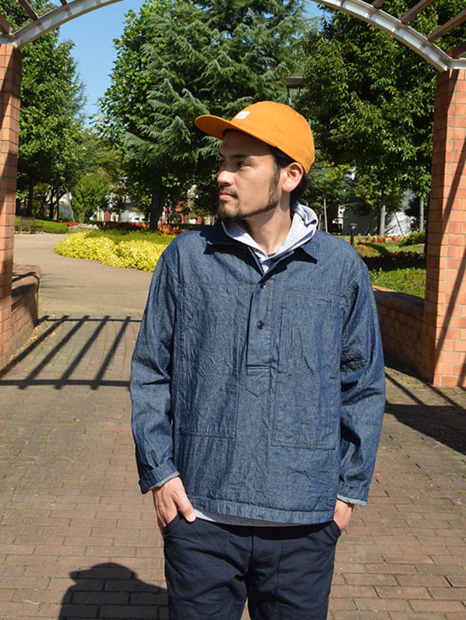 【Engineered Garments Workaday】 Army Shirt (8oz Denim)