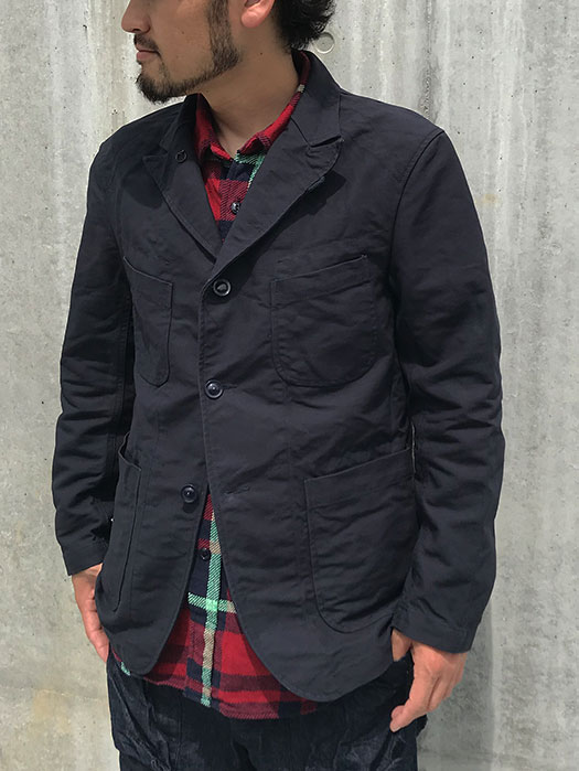 Bedford Jacket (Cotton Double Cloth)