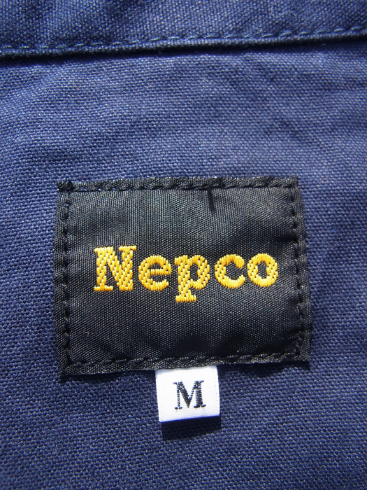 【Nepco】 Cordura Patched Jacket (Coverall)