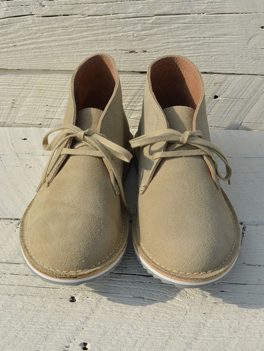 Ripple Sole Suede Chukka Boot