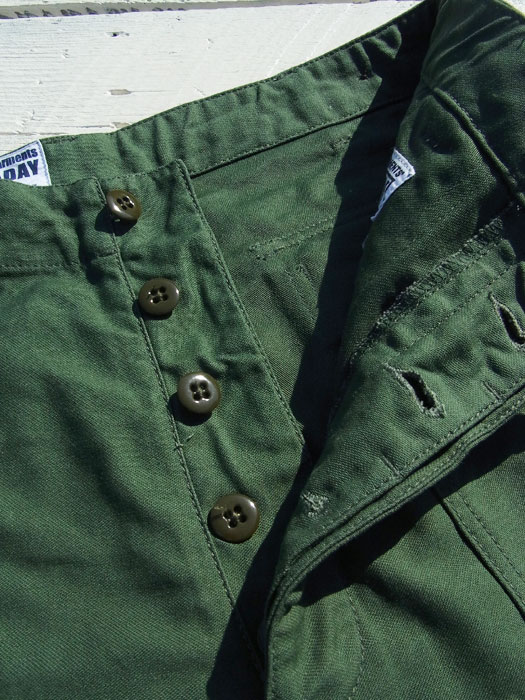 【Engineered Garments Workaday】 Fatigue Pants (Reversed Sateen)