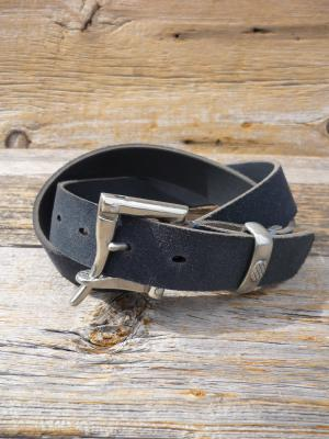 【Martin F.for Needles】 Quick Release Belt (Suede / Narrow)