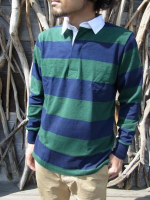 Light Weight L/S Rugby Shirts